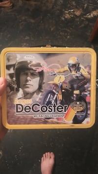 yellow Roger DeCoster lunch box Odessa, 79764