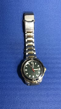 silver and gold two toned link band round face analog watch Las Vegas, 89178