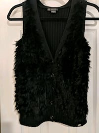 Armani Exchange. Rabbit fur. Size small. Black  Fairfax, 22030