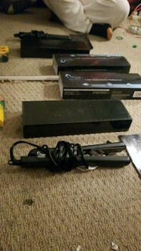 black Sony PS3 slim console with controller Halton Hills, L7G 3H3