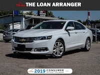 2019 Chevrolet Impala with 49,516km and 100% Approved Financing Oshawa