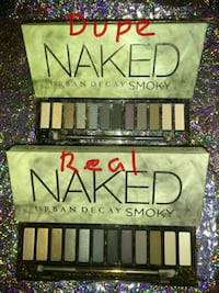 two Urban Decay Naked eyeshadow palettes