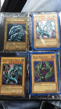 yugioh cards dragons and magician