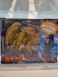 Yu-Gi-Oh Master & Monster collectibles