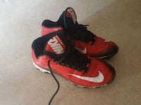 pair of red-and-black Nike basketball shoes Phoenix, 85053