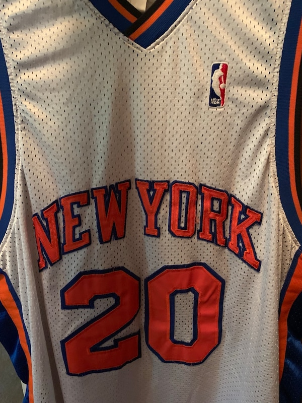 Vintage official Allan Houston knicks jersey 0