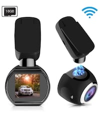 Brand new Car Dash Cam WiFi FHD 1080P Car Dash (16GB SD card included) 马卡姆, L6E 2C4