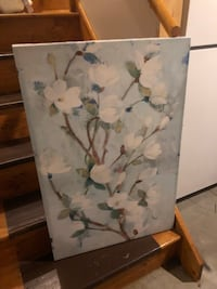 White and blue floral painting East Greenbush, 12061