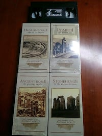Lost treasures of the ancient world vhs Baltimore