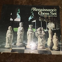 Renaissance chess set box Cross Lanes, 25313