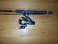 Fishing rod and reel Quantum SS and Vector like new MONTREAL