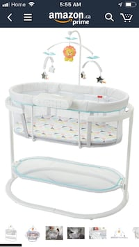 Fisher Price Motion Soothing Bassinet Brampton, L7A 1Y9