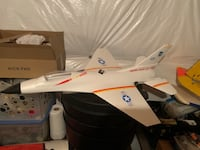 RC model airplane RTF ducted fan jet with flight stabilization  Round Hill, 20141