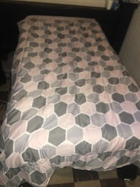 Twin size mattress and bed frame Baltimore, 21206