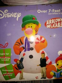 Christmas Airblown Inflatable Tigger Pawtucket, 02861
