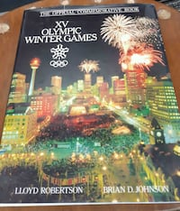 The official commemorative book from Olympic 1988 Calgary, T2Y