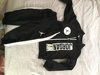black and white adidas zip-up jacket Temple Hills, 20748
