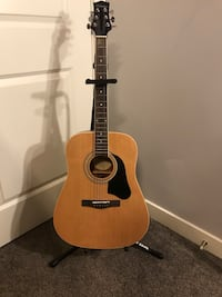 Brand new acoustic guitar and amp Calgary, T3M 0H7