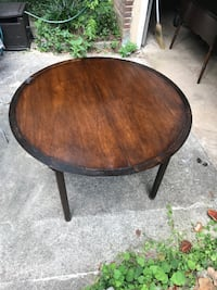"""table 42"""" newly sanded and refinished CHARLOTTE"""