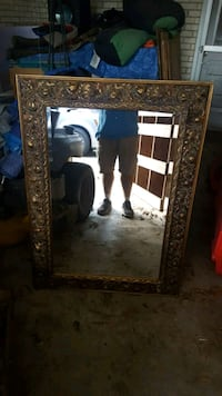 Gold mirror antique Lafayette, 70506