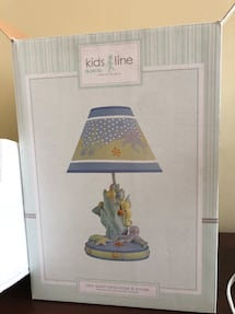 Kids Line Sea quest lamp and shade