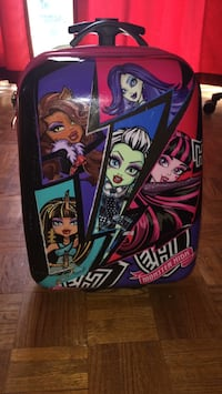 Monster high hard case luggage
