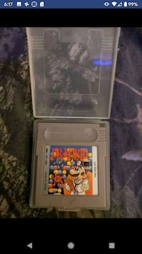 Dr. Mario and Bomber Man for Gameboy color