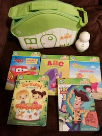 Leap frog tag junior electronic 5 books Brooklyn, 11230