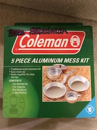 Coleman, 5 Piece Mess Kit Burtonsville, 20866