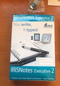 Boligrafo Digital IRIS Notes Executive 2