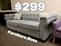 white and gray fabric sectional sofa Lake Elsinore, 92530