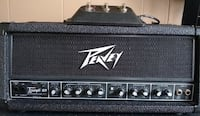 black and gray Peavey guitar amplifier Amsterdam