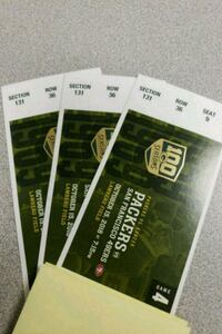Green Bay Packers tickets  Harvard, 60033