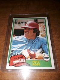 1981 PETE ROSE , GEM MINT 10 !