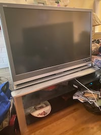 "Sony Grand WEGA LCD rear projection television 50""  with stand"