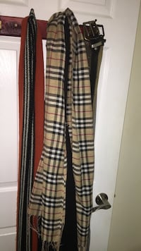 Burberry scarf (not real) Toronto, M6N 4P6