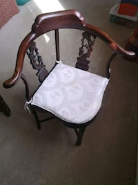 antique Chinese hard wood corner chair McLean, 22102