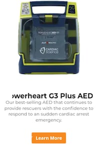 Powerheart G3 PLUS AED VANCOUVER