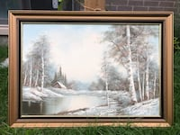 Original Oil painting  Oakville, L6L 0P3