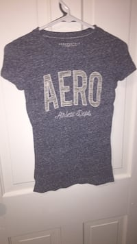 Gray crew-neck shirt areo postale Council Bluffs, 51503