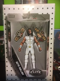 Issue #1 WWE Comic Book Variant Cover