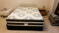 Great Queen Mattress +  box! Hardly used Richmond Hill, L4C 4M2