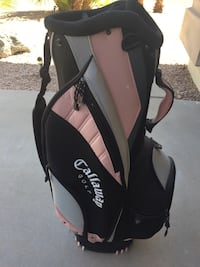 Calloway Golf Bag - Pink and Black Chandler, 85248