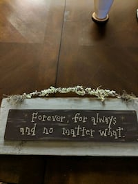 Sign for wall great condition Palos Hills, 60465