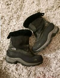 The north face snow boots