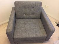 Grey Fabric Chair Vancouver, V5N 2M7