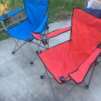 red and blue camping chair Antioch, 94509