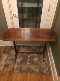 Solid wood hall table Mono, L9W 5Z7