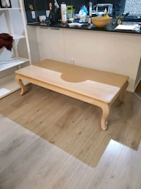 Solid wood coffee table  Surrey