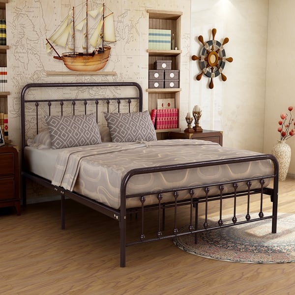 Queen Size Metal Bed Frame For Sale, New or Like N